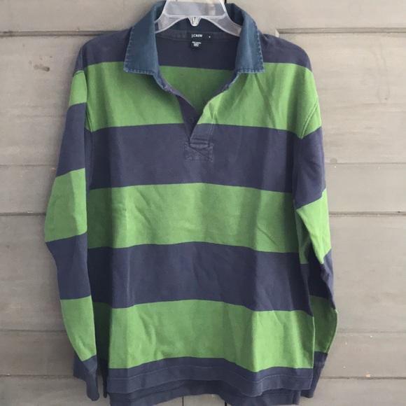 d3f44c0452c J. Crew Shirts   J Crew Long Sleeve Rugbypolo Shirt   Poshmark